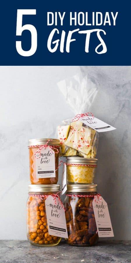 Christmas Gifts For Teachers Diy.5 Edible Diy Christmas Gifts Sweet Peas And Saffron