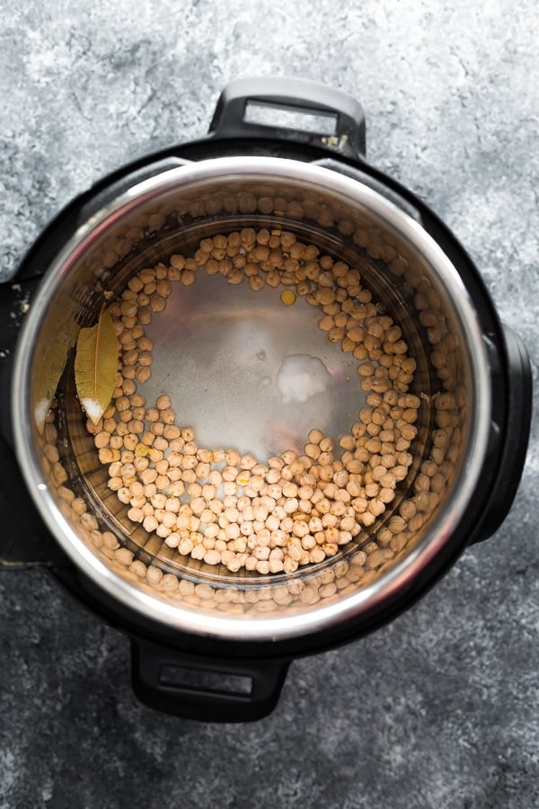 chickpeas instant pot before cooking