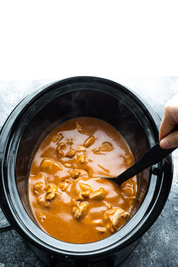 How do i cook butter chicken in a slow cooker