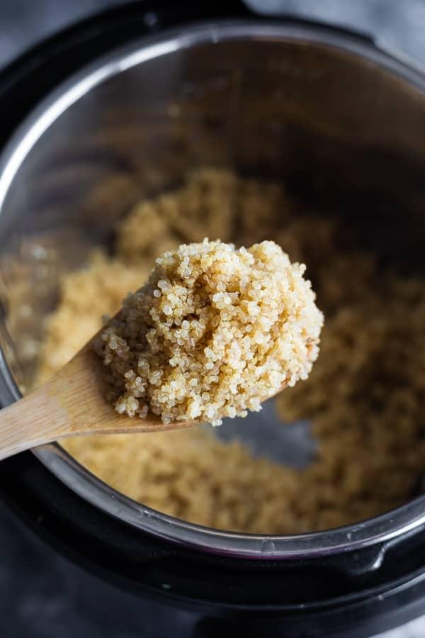 spoonful of quinoa instant pot