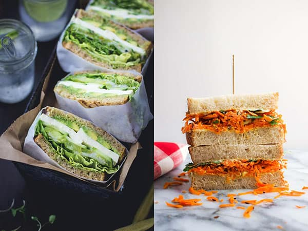 Collage image of Sandwiches & Wraps