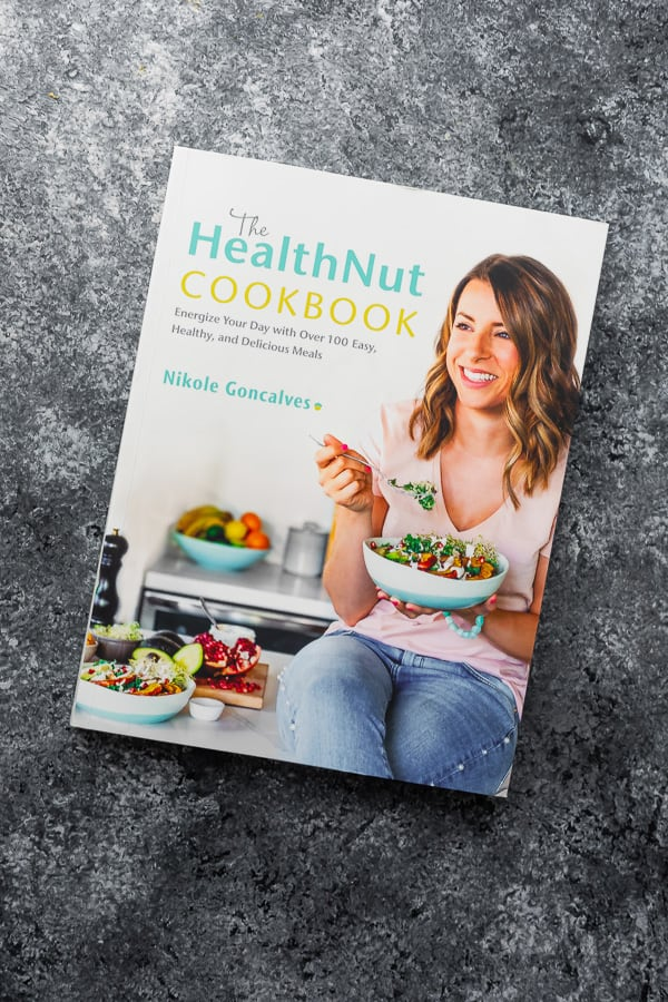 picture of the Health Nut Cookbook