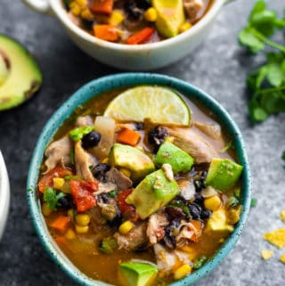 Crockpot Slow Cooker Mexican Chicken Stew