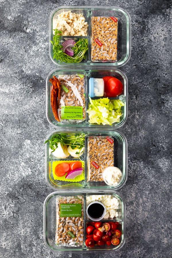 4 Bento Lunch Box Ideas