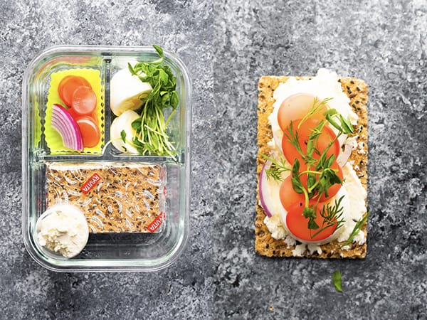 radish and egg bento lunchbox ideas