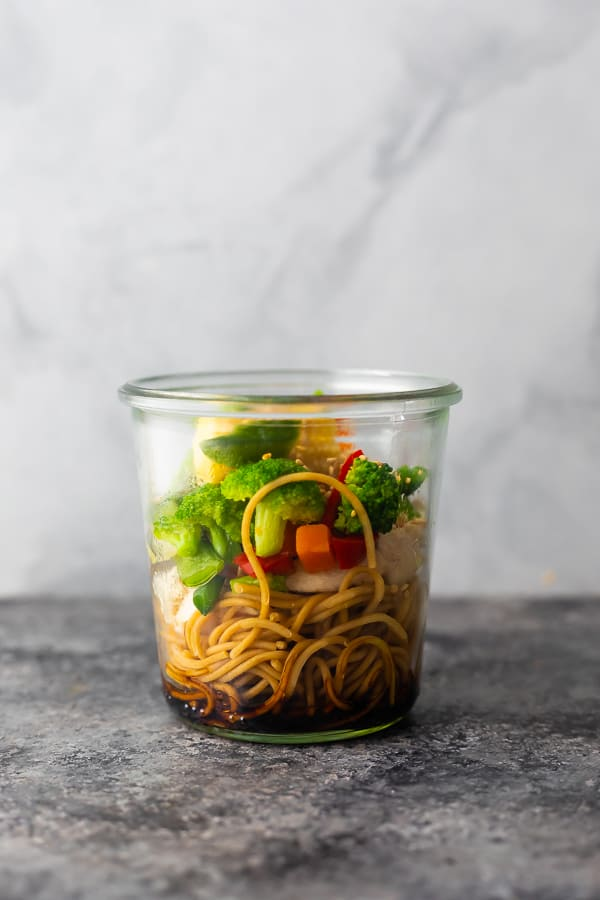 healthy instant noodle cups