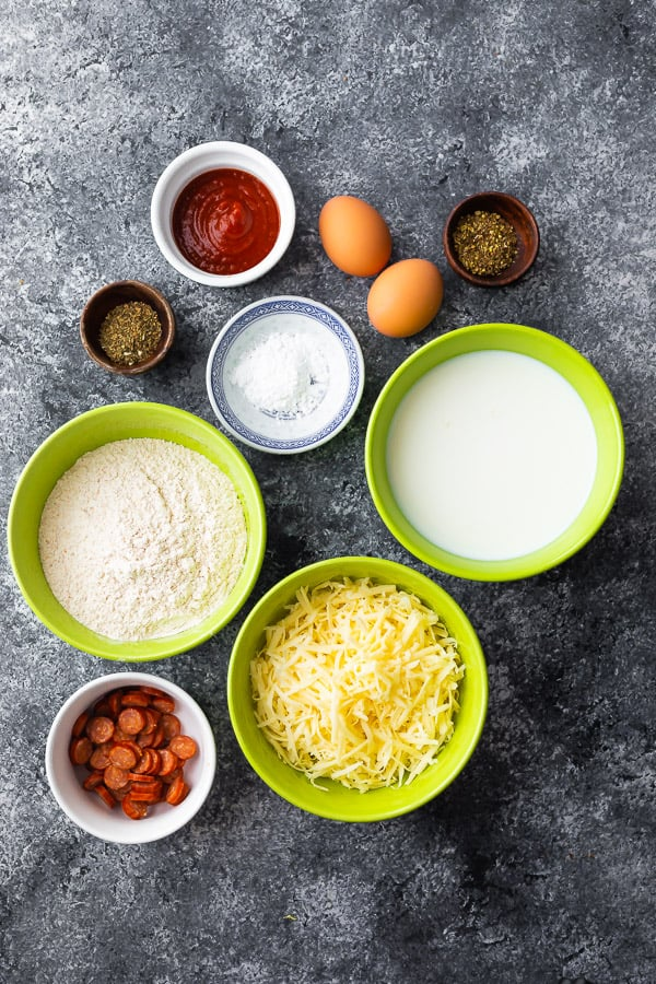 ingredients required for pizza puff