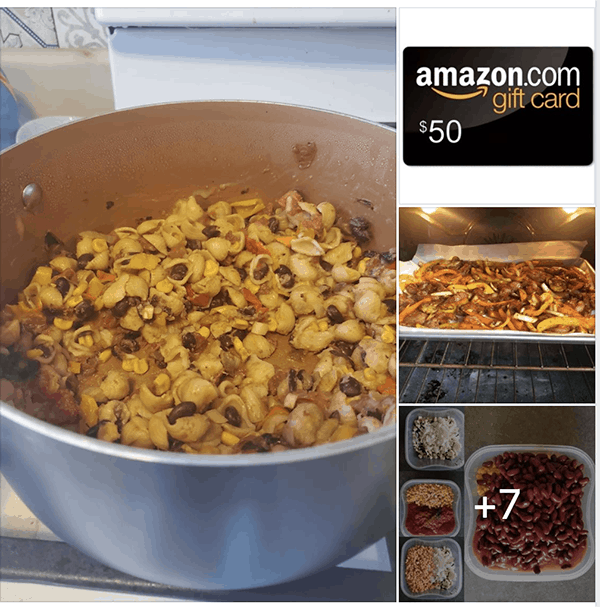 pantry staples cook in