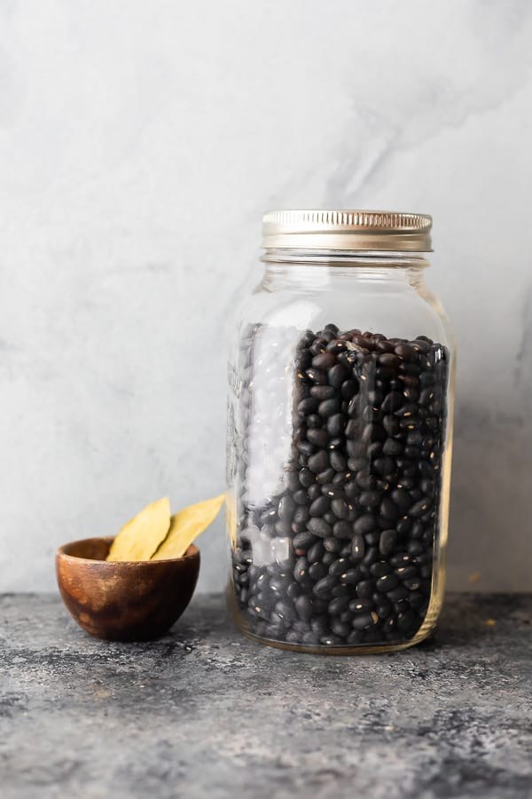ingredients required to cook black beans