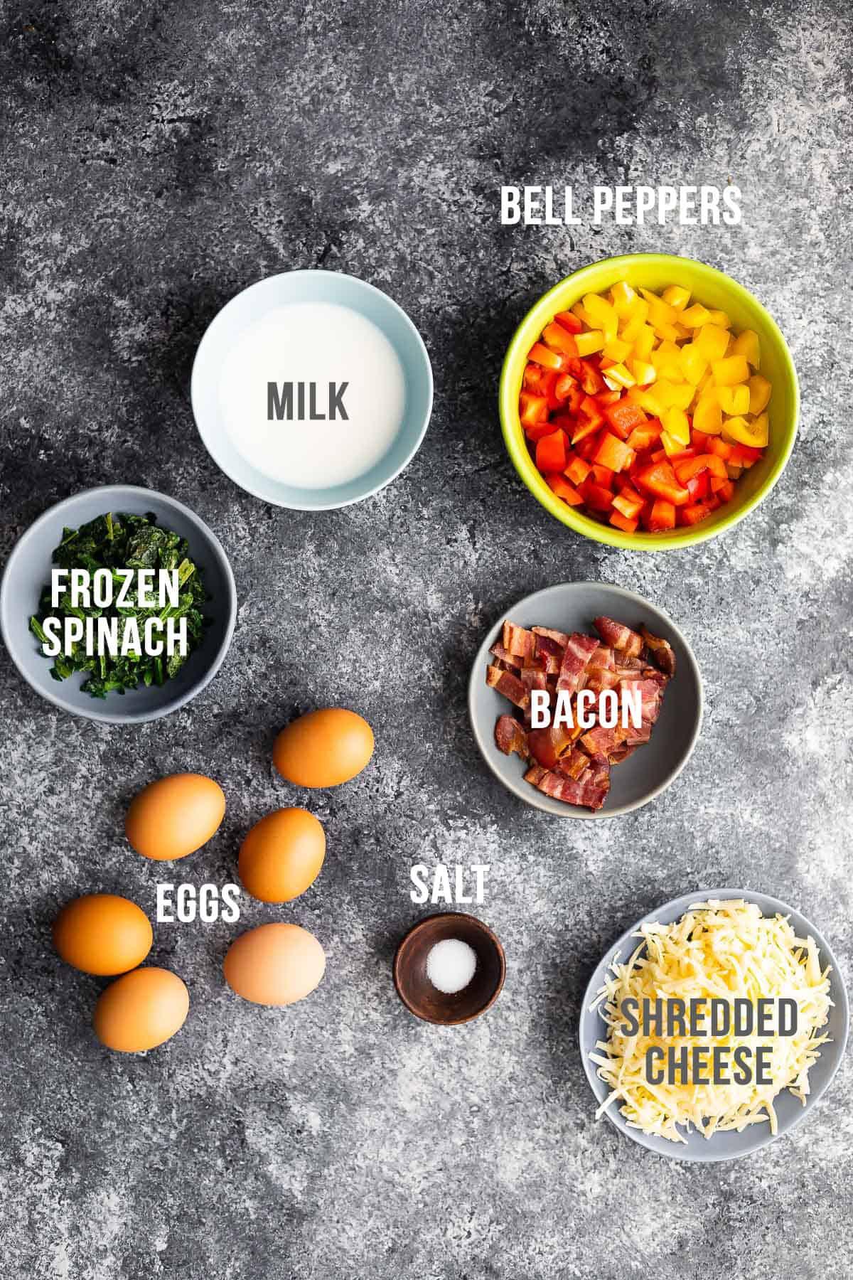 kahvaltılık güveç yapmak için gerekli malzemeler