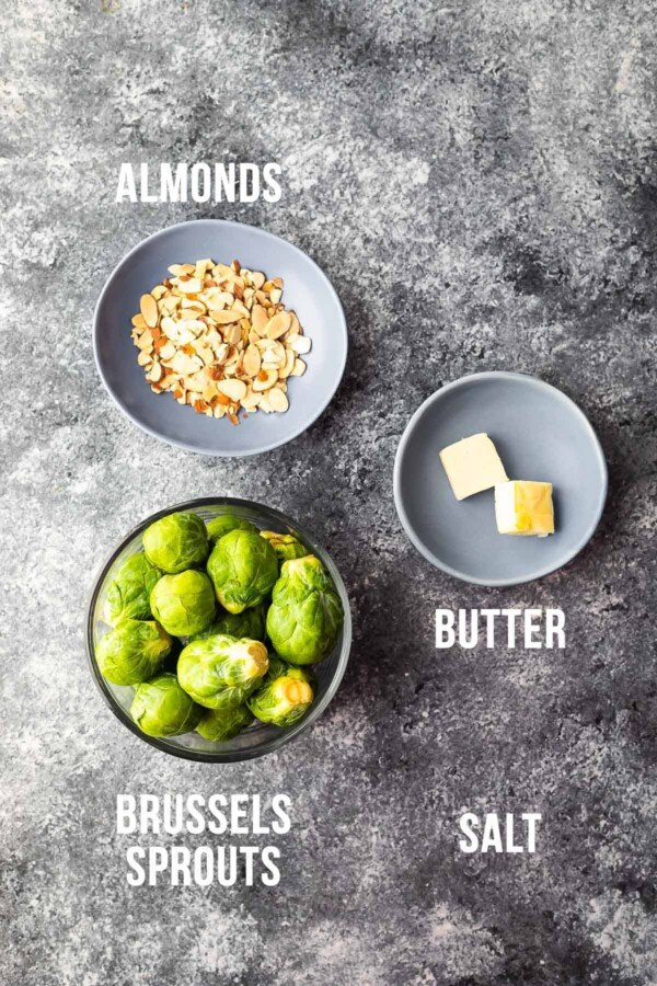 ingredients required to make instant pot brussels sprouts