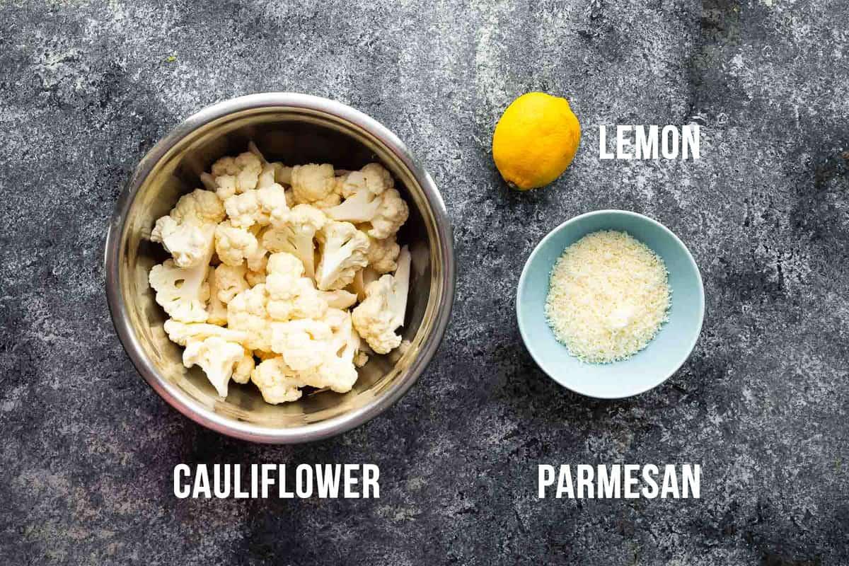 ingredients required to make instant pot cauliflower
