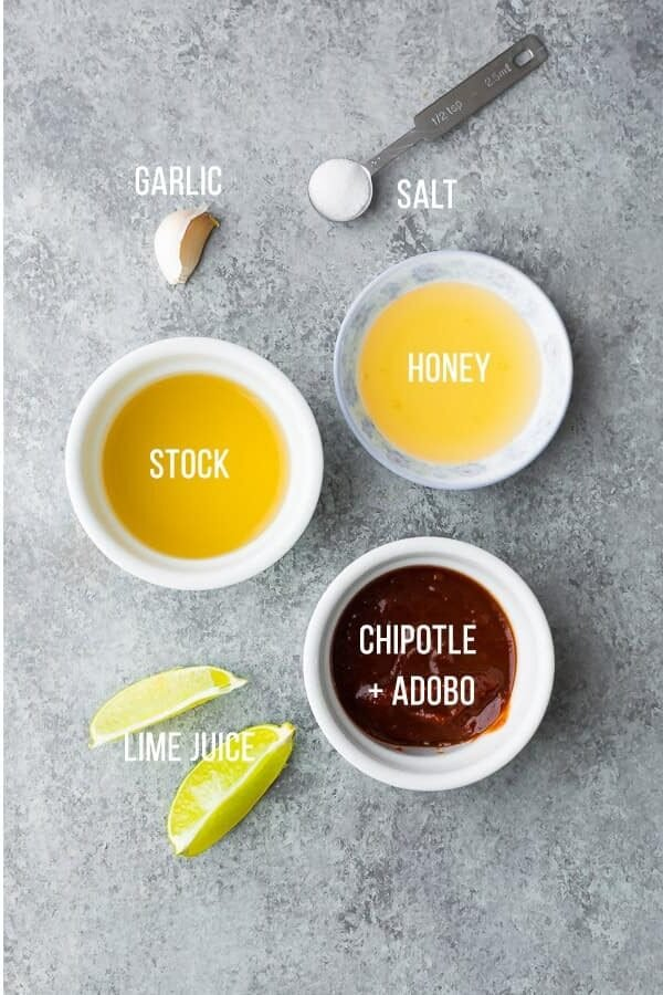 ingredients required to make instant pot chipotle lime chicken