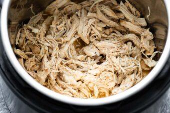 shredded chicken in the instant pot