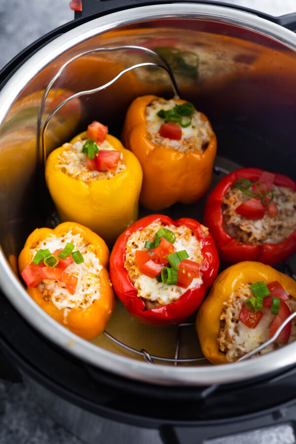stuffed peppers in the instant pot