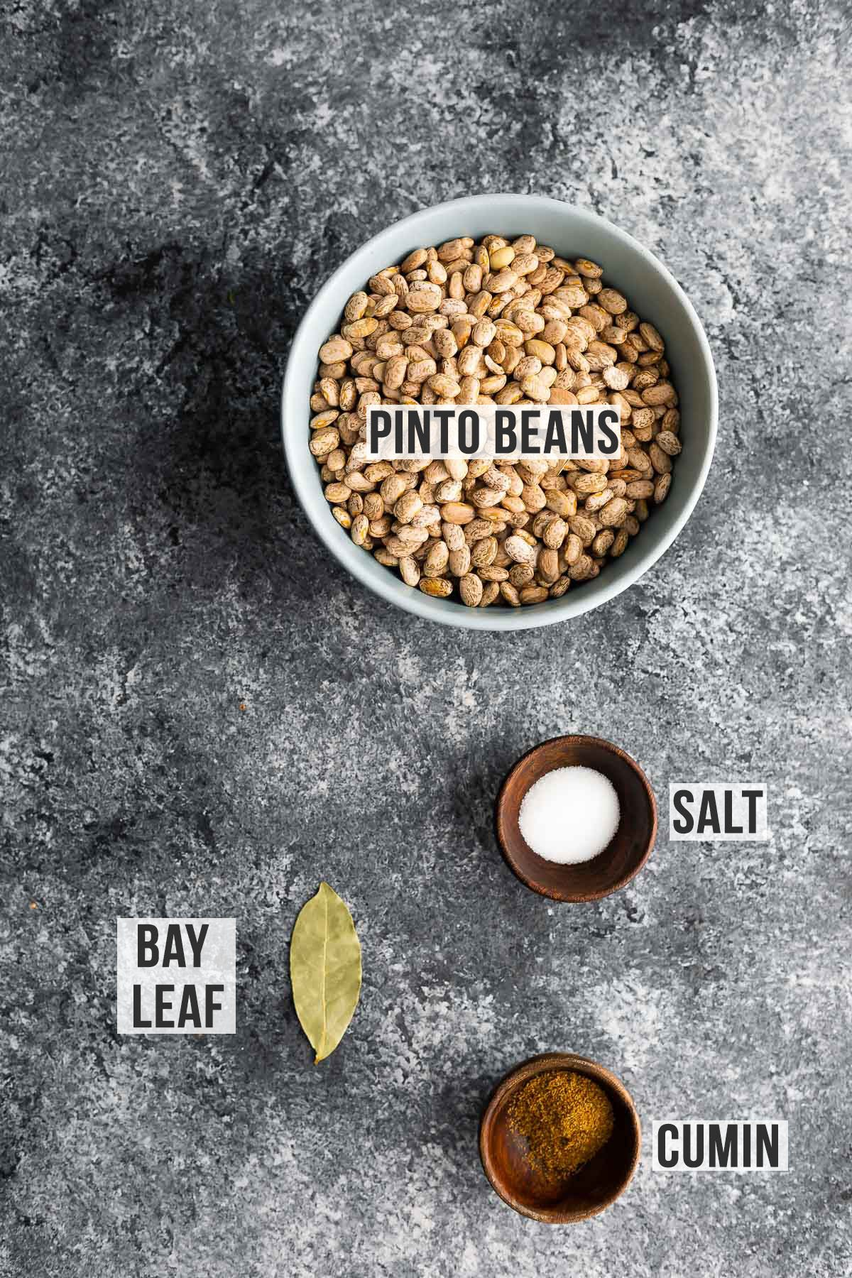 ingredients required to cook pinto beans