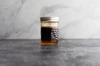 sauce for honey garlic chicken in jar