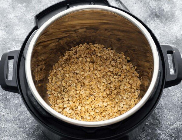 toasting oats in instant pot