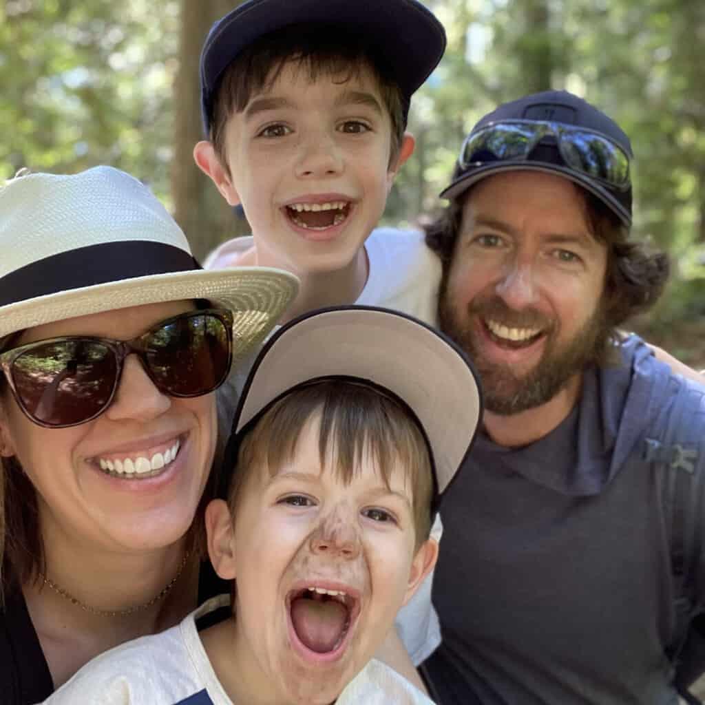 family selfie 2021
