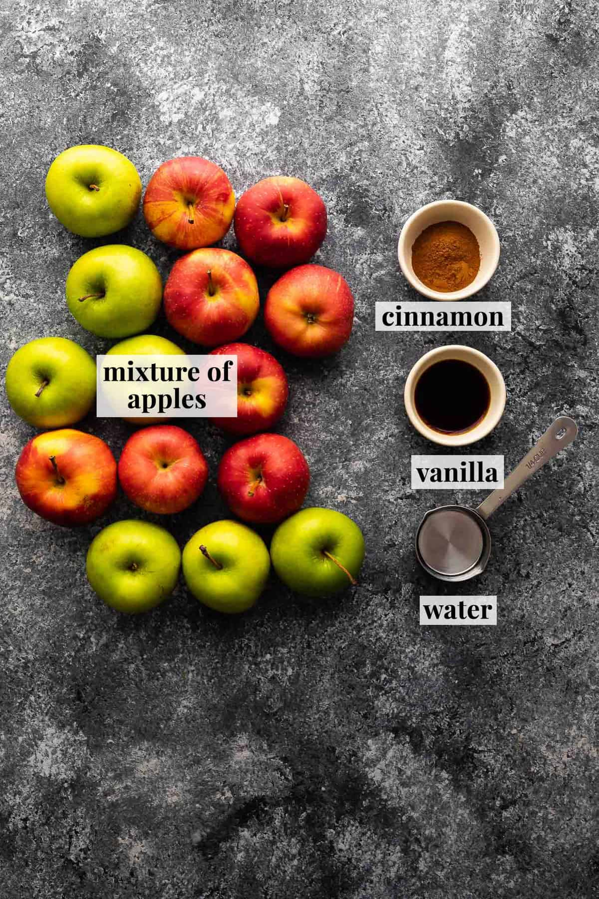 ingredients required to make instant pot apple butter