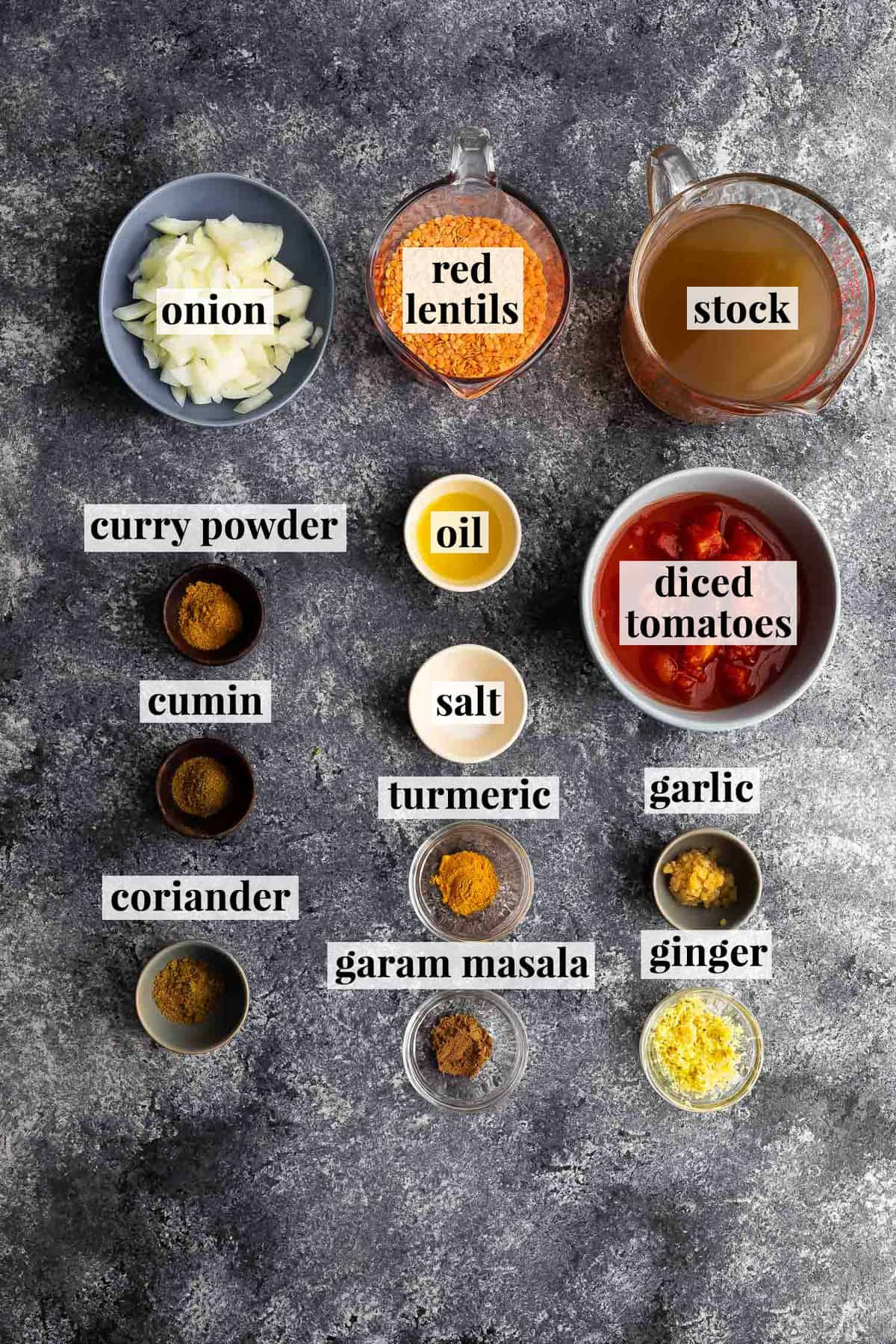 ingredients required to make instant pot dal